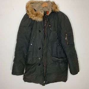 J crew • down filled expedition parka jacket